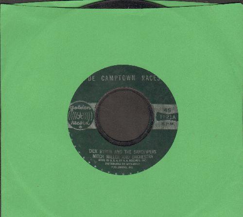 Byron, Dick & The Sandpipers - De Campton Races (Doo-Dah Doo-Dah)/Clementine  - VG7/ - 45 rpm Records