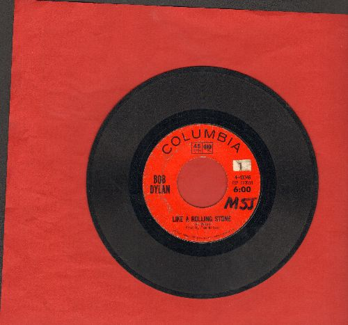 Dylan, Bob - Like A Rolling Stone/Gates Of Eden (wol) - VG6/ - 45 rpm Records