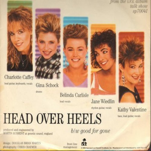 Go-Go's - Head Over Heels/Good For Gone (with picture sleeve) - EX8/VG7 - 45 rpm Records