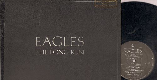 Eagles - The Long Run: Heartache Tonight, Teenage Jail, The Greeks Don't Want No Freaks, The Disco Strangler, King Of Hollywood (Vinyl LP record, gate-fold cover) PROMO - EX8/VG7 - LP Records