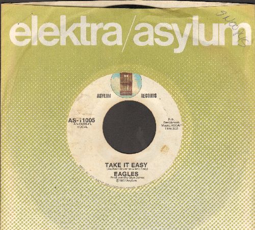 Eagles - Take It Easy/Get You In The Mood (with company sleeve) - EX8/ - 45 rpm Records