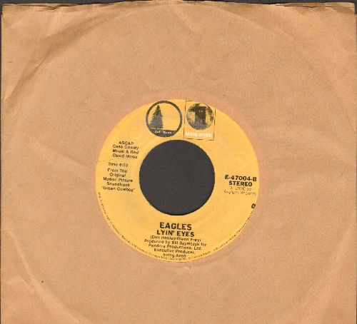 Eagles - Lyin' Eyes/Take It To The Limit (double-hit re-issue) - EX8/ - 45 rpm Records