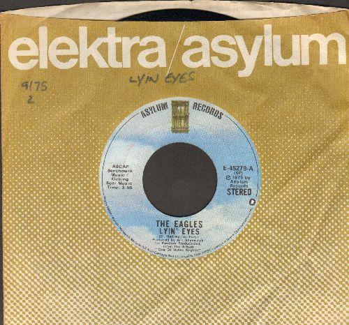 Eagles - Lyin' Eyes/Too Many Hands (with company sleeve) - EX8/ - 45 rpm Records