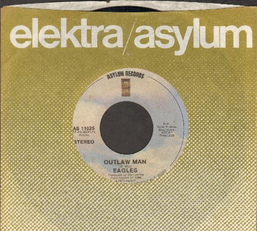 Eagles - Outlaw Man/Certain Kind Of Fool (with company sleeve) - EX8/ - 45 rpm Records