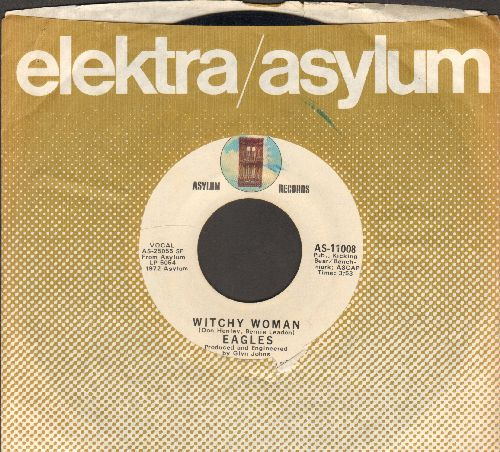 Eagles - Witchy Woman/Earlybird (with company sleeve) - EX8/ - 45 rpm Records