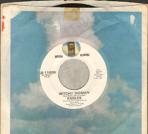 Eagles - Witchy Woman/Earlybird (with Asylum company sleeve) - NM9/ - 45 rpm Records