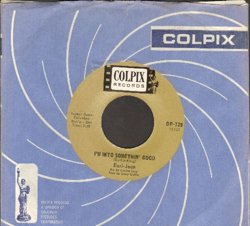 Earl-Jean - I'm Into Something Good/We Love And Learn (with RARE vintage Colpix company sleeve) - NM9/ - 45 rpm Records
