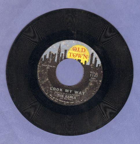 Earls - Eyes/Look My Way - VG6/ - 45 rpm Records