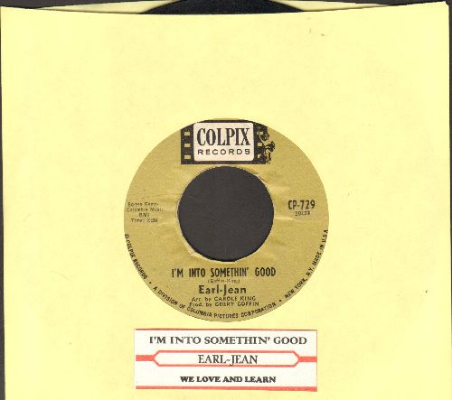 Earl-Jean - I'm Into Somethin' Good/We Love And Learn (with juke box label) - VG7/ - 45 rpm Records