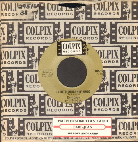 Earl-Jean - I'm Into Something Good/We Love And Learn (with RARE vintage Colpix company sleeve) - EX8/ - 45 rpm Records