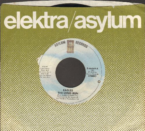 Eagles - The Long Run/The Disco Strangler (with company sleeve) - EX8/ - 45 rpm Records