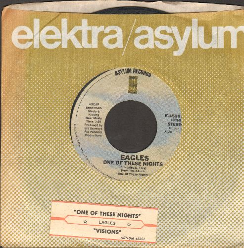 Eagles - One Of These Nights/Visions (with company sleeve and juke box label) - EX8/ - 45 rpm Records