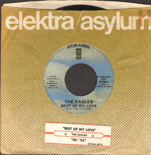 Eagles - Best Of My Love/Ol' '55 (with juke box label and company sleeve) - NM9/ - 45 rpm Records