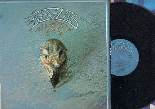 Eagles - Their Greatest Hits 1971 - 1975: Take It Easy, Lyin' Eyes, Desperado, Tequila Sunrise, Best Of My Love (Vinyl STEREO LP record, minor woc) - VG7/EX8 - LP Records