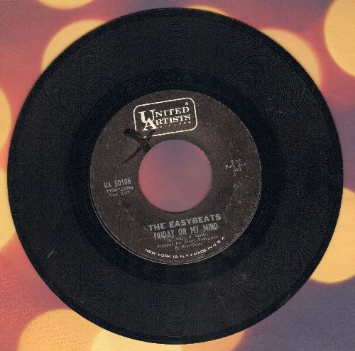 Easybeats - Friday On My Mind/Made My Bed: Gonna Lie In It - EX8/ - 45 rpm Records
