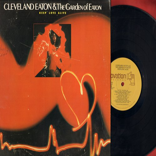 Eaton, Cleveland & The Garden Of Eaton - Keep Love Alive: Get Off, Flyin' High, Free At Last, The Birmingham Train (Vinyl STEREO LP record) - M10/VG7 - 45 rpm Records