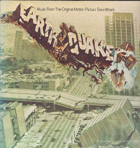 Earthquake - Earthquake - Music From The Original Motion Pictue Soundtrack (vinyl LP record) - NM9/NM9 - LP Records