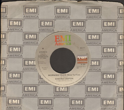 Easton, Sheena - Morning Train (Nine To Five)/Calm Before The Storm  - EX8/ - 45 rpm Records