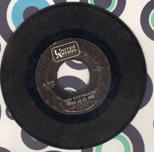 Easybeats - Friday On My Mind/Made My Bed: Gonna Lie In It - VG7/ - 45 rpm Records