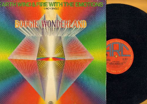 Earth, Wind & Fire - Boogie Wonderland (9:19 minutes Extened Version)/Boogie Wonderland (6:16 minutes Instrumental Version) (12 inch 33rpm vinyl Maxi Single with picture cover) - EX8/EX8 - Maxi Singles