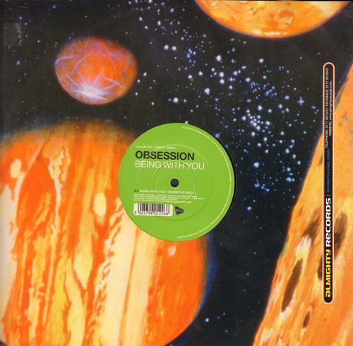 Obsession - Can You Feel It/Being With You (12 inch vinal Maxi Single, British Pressing) - NM9/ - Maxi Singles