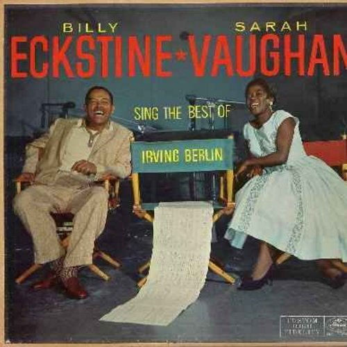 Eckstine, Billy & Sarah Vaughan - Sing The Best If Irving Berlin: Cheek To Cheek, Always, The Girl That I Marry, Easter Parade, Alexander's Ragtime Band (Vinyl LP record) - VG7/VG7 - LP Records