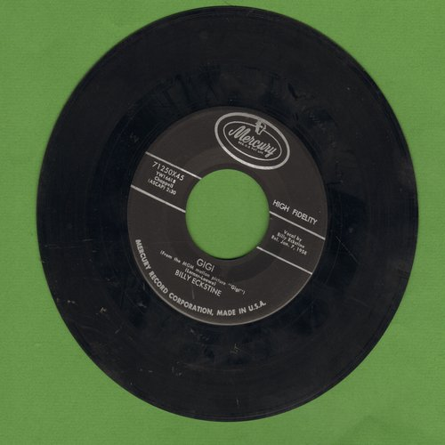 Eckstine, Billy - Gigi/Trust In Me - EX8/ - 45 rpm Records
