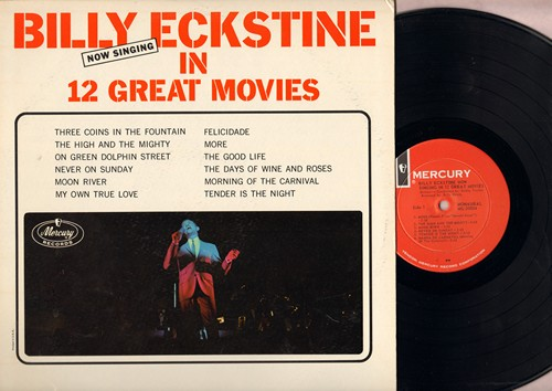 Eckstine, Billy - Now Singing In 12 Great Movies: The High And The Mighty, Moon River, Never On Sunday, My Own True Love, More (Vinyl MONO LP record) - NM9/EX8 - LP Records