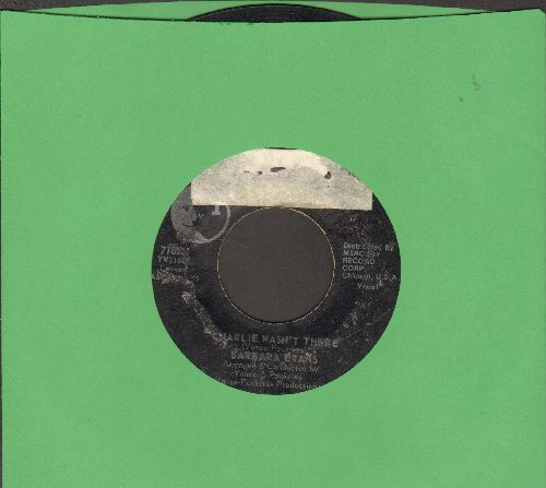 Evans, Barbara - Charlie Wasn't There/Nothing You Can Do (sol) - VG6/ - 45 rpm Records