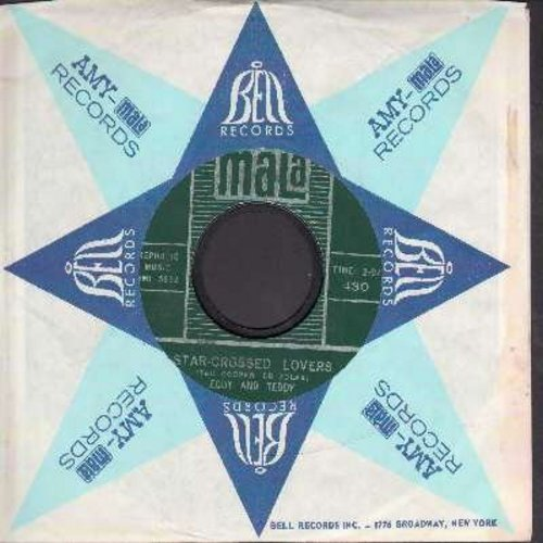 Eddy & Teddy - Star-Crossed Lovers/Bye Bye Butterfly (with vintage Mala company sleeve) - VG7/ - 45 rpm Records