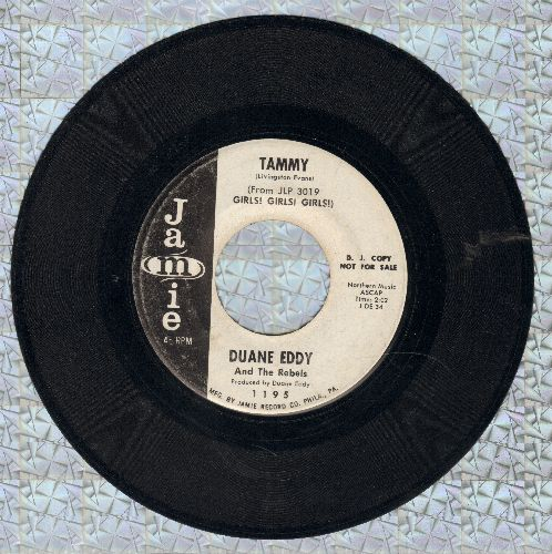 Eddy, Duane - Tammy/Drivin' Home (DJ advance pressing) - EX8/ - 45 rpm Records