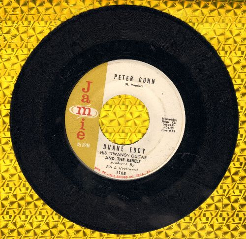 Eddy, Duane - Peter Gunn/Along The Navajo Trail  - EX8/ - 45 rpm Records