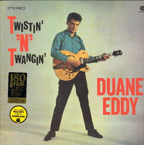 Eddy, Duane - Twistin' 'N' Twangin': Peppermint Twist, Let's Twist Again, Miss Twist, Dear Lady Twist, The Twist, Sugartime Twist  (180 gram Virgin Vinyl re-issue, EU Pressing, SEALED, never opened!) - SEALED/SEALED - LP Records