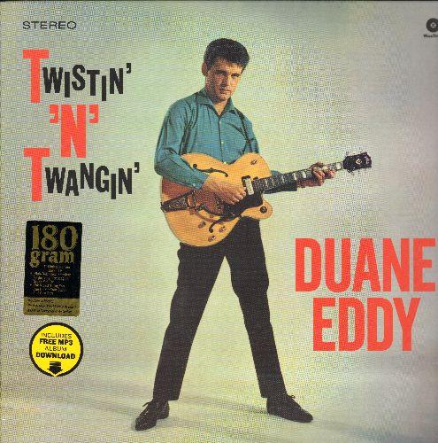 Eddy, Duane - Twistin' 'N' Twangin': Peppermint Twist, Let's Twist Again, Miss Twist, Dear Lady Twist, The Twist, Sugartime Twist  (180 gram Virgin Vinyl re-issue, EU Pressing, SEALED, never opened!) - SEALED/SEALED - LP Records