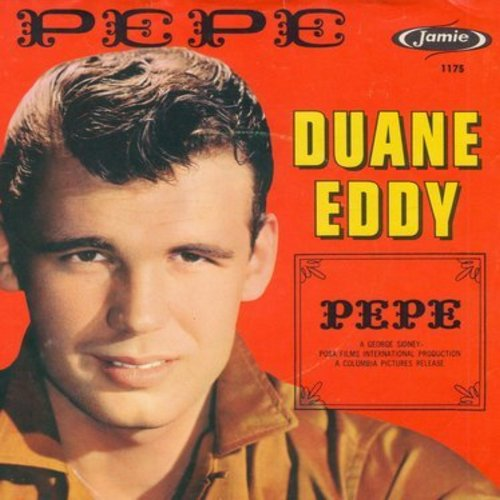 Eddy, Duane - Pepe/Lost Friend (with picture sleeve) (ball point pen markings on back of picture sleeve) - EX8/VG7 - 45 rpm Records
