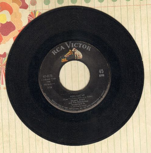 Eddy, Duane - Boss Guitar/The Desert Rat (sol) - VG7/ - 45 rpm Records