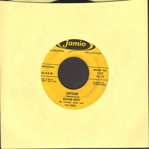 Eddy, Duane - Detour/The Lonely One - EX8/ - 45 rpm Records