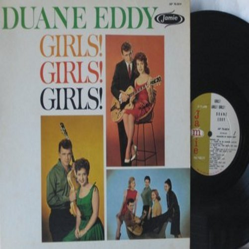 Eddy, Duane - Girls! Girls! Girls!: Tammy, Annette, Patricia, Mona Lisa, Connie, Carol, Brenda (Vinyl MONO LP record) - NM9/NM9 - LP Records