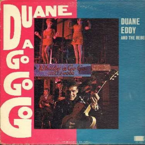Eddy, Duane - Duane A Go Go Go: Puddin', Moovin' N Groovin', Around The Block In 80 Days, Busted, I'm Blue, Dream Lover (Vinyl MONO LP record, DJ advance copy) - EX8/VG7 - LP Records