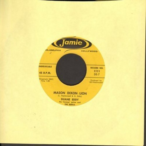 Eddy, Duane - Mason Dixon Lion/Cannon Ball  - VG6/ - 45 rpm Records