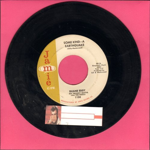 Eddy, Duane - Some Kind-A Earthquake/First Love, First Tears  - VG7/ - 45 rpm Records