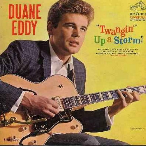 Eddy, Duane - Twangin' Up A Storm!: Walk Right In, He's So Fine, Beach Bound, Soldier Boy, Soul Twist (Vinyl MONO LP record) - EX8/EX8 - LP Records