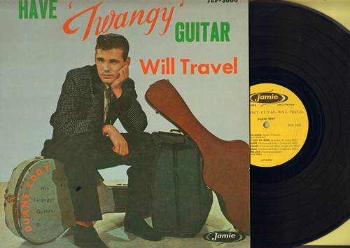 Eddy, Duane - Have Twangy Guitar Will Travel: Detour, Ram Rod, Lonesome Road, Rebel-Rouser (vinyl MONO LP record) - VG7/VG7 - LP Records