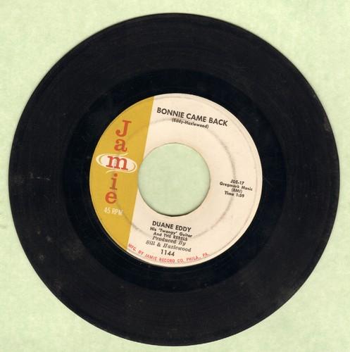Eddy, Duane - Bonnie Came Back/Lost Island  - VG7/ - 45 rpm Records