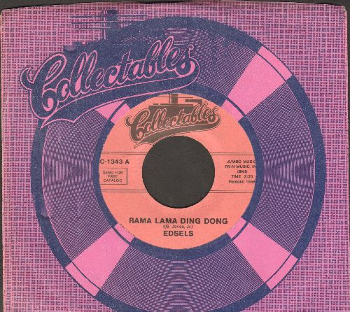 Edsels - Rama Lama Ding Dong/Bells (re-issue with company sleeve) - NM9/ - 45 rpm Records