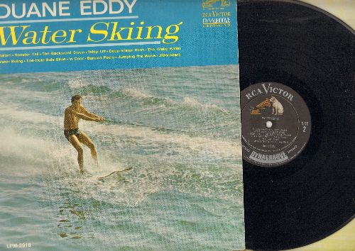 Eddy, Duane - Water Skiing: Jitterboard, Slalom, Whip Off, Banana Peels, In Gear (Vinyl MONO LP record) - VG7/EX8 - LP Records