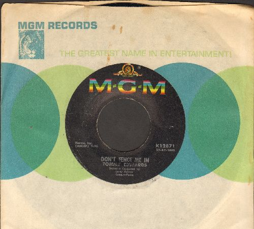 Edwards, Tommy - Don't Fence Me In/I'm Building Castles Again (MINT condition with vintage MGM company sleeve) - EX8/ - 45 rpm Records
