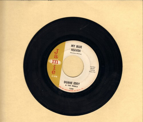 Eddy, Duane - My Blue Heaven/Along Came Linda - VG7/ - 45 rpm Records