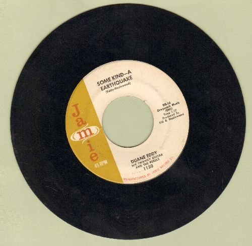 Eddy, Duane - Some Kind-A Earthquake/First Love, First Tears  - EX8/ - 45 rpm Records