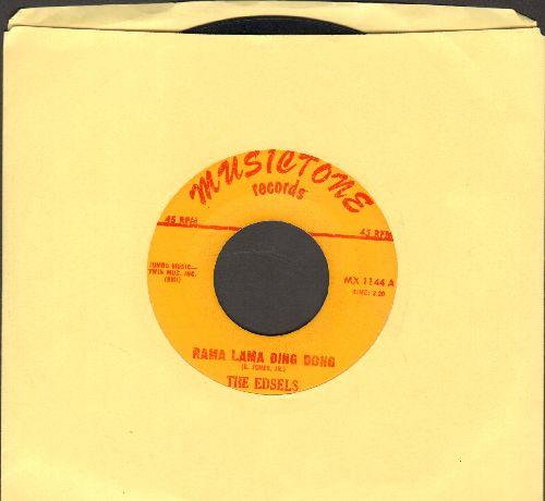 Edsels - Rama Lama Ding Dong/Bells  - VG7/ - 45 rpm Records